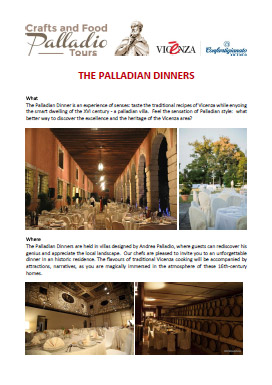 the palladian dinners